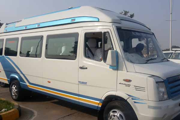 Exterior of Tempo Traveller